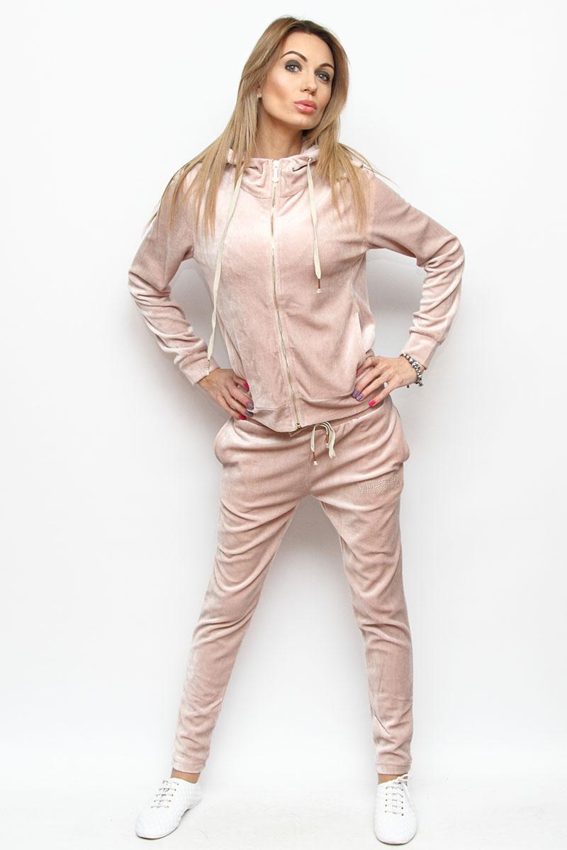 Трикотажный костюм-двойка для девочек Setty Koop оптом